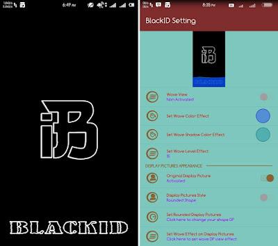 BBM Mod Tema Black ID Versi 2.13.1.14 Apk Clone | Unclone