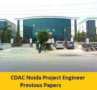 CDAC Noida Project Engineer Previous Papers