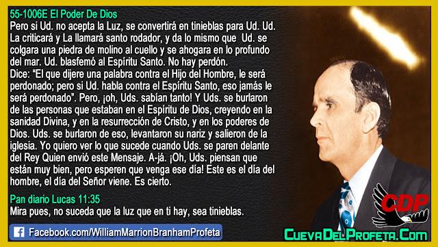 El Rey Quien envió este Mensaje - William Branham en Español