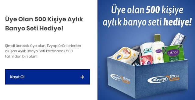 Banyo Setiniz Evyap Shop'tan!