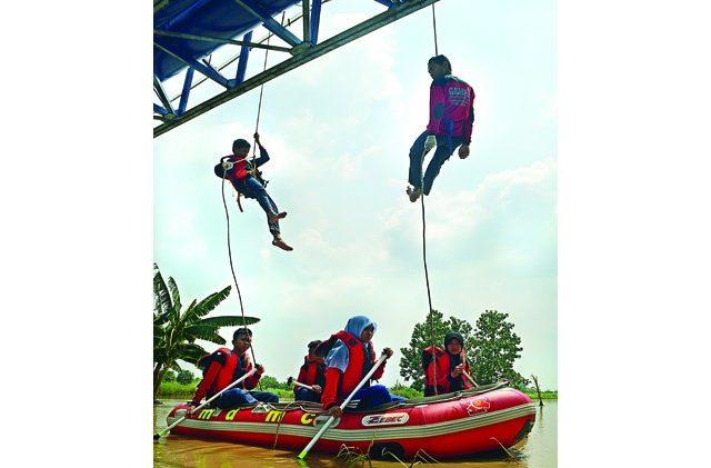 Kiprah Ekskul Generasi Muda Pencinta Alam SMA Muhammadiyah 8 Cerme, Gresik