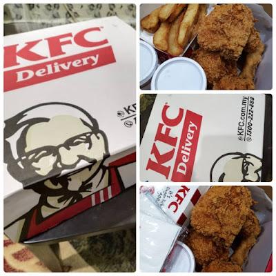 Order Meals Delivery Dengan KFC Delivery Yang Pantas Dan Mudah