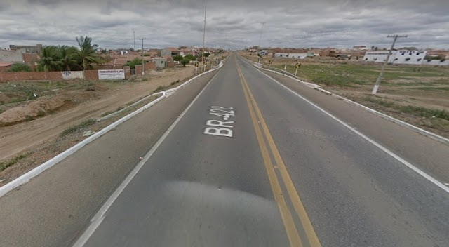 Atropelamento com vítima fatal na BR- 428 em cabroró no Sertão