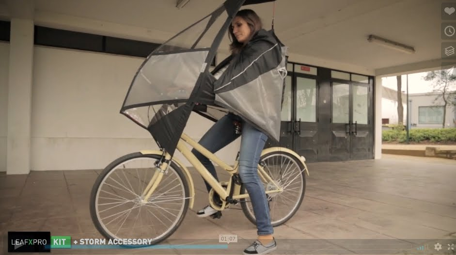 Then Theres The Nubrella Which You Can Incorporate Into Any Activity Not Just Cycling