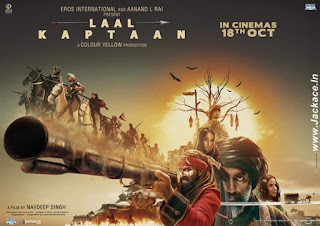 Laal Kaptaan Budget, Screens And Day Wise Box Office Collection India, Overseas, WorldWide