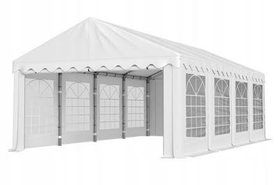 namiot weselny ogrodowy 5 m x 10 m wypożyczalnia dekoracji rzeszów ślubnażyczenie
