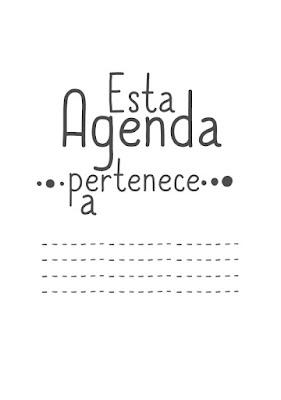 AGENDA, DIARIA, IMPRIMIR, EDITAR, POWERPOINT, PDF, EDITABLE