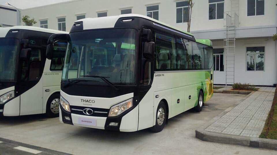 Đại lý bán xe khách 29 chỗ tại Hải Phòng Thaco Trọng Thiện