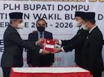 Sertijab Bupati dan Wabup Dompu serta Ketua PKK Berlangsung Khidmat