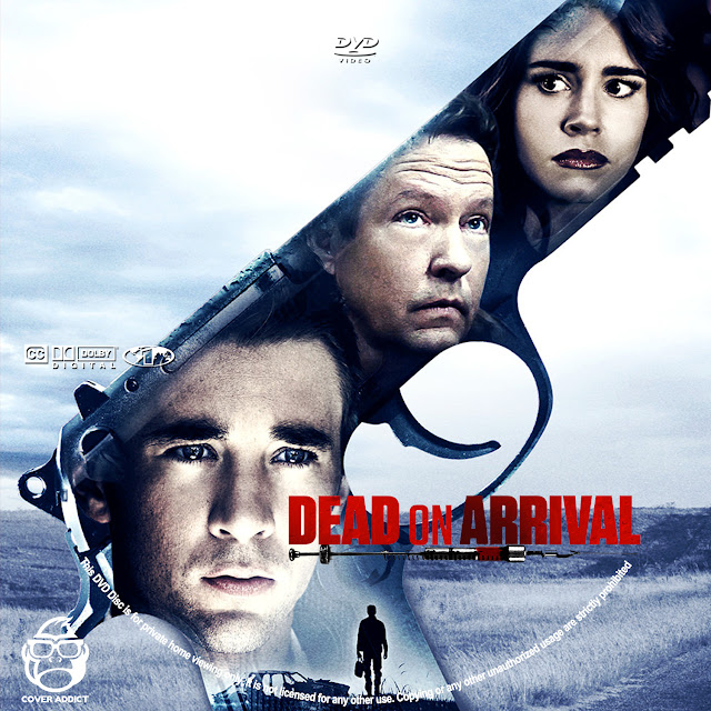 Dead On Arrival DVD Label
