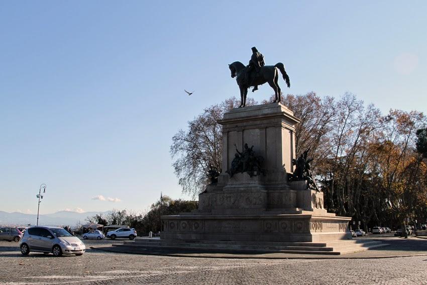 Pomnik Garibaldiego w Rzymie