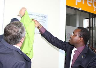 A Moviflor inaugurou ontem a sua primeira loja em Maputo