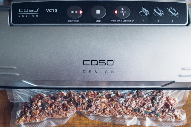 Gear of the Week #GOTW KW 08  CASO VC10 Vakuumierer  Vakuumiergerät  Lebensmittel vakuumieren  Trekkingnahrung haltbar machen 01