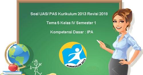 Soal Uas Pas Tema 5 Bahasa Indonesia Kelas 4 Semester 1 Kurikulum 2013 Juragan Les