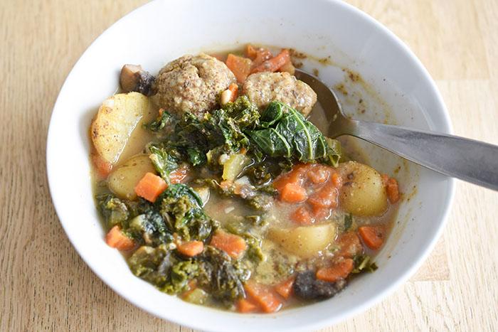 - Chunky Portobello Stew