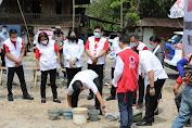 Wagub Lakukan Ground Breaking Pembangunan Gudang Regional PMI Sulut