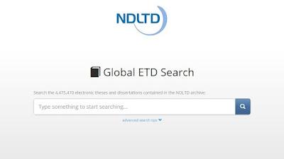 NDLTD (Networked Digital Library of Theses and Dissertations)