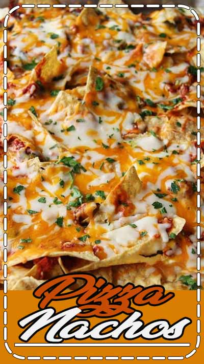 My Kids love pizza and they also love nachos so I decided to give them both in one dish. Actually, I had no idea what I was going to make for dinner in 15 min. and then I remembered I had some leftover marinara from the night before, a 1/2 bag of cheese and a bag a tortilla chips that my