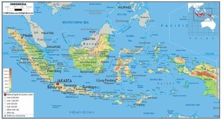 Komponen Peta beserta Penjelasannya secara Lengkap