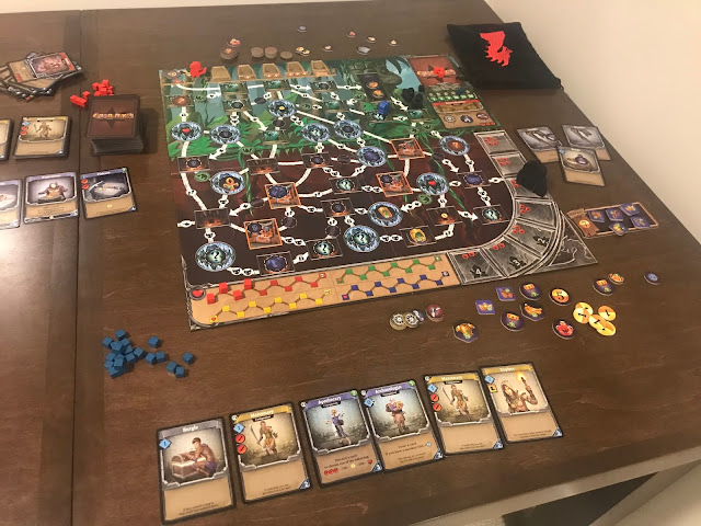 clank expeditions temple of the ape lord board game