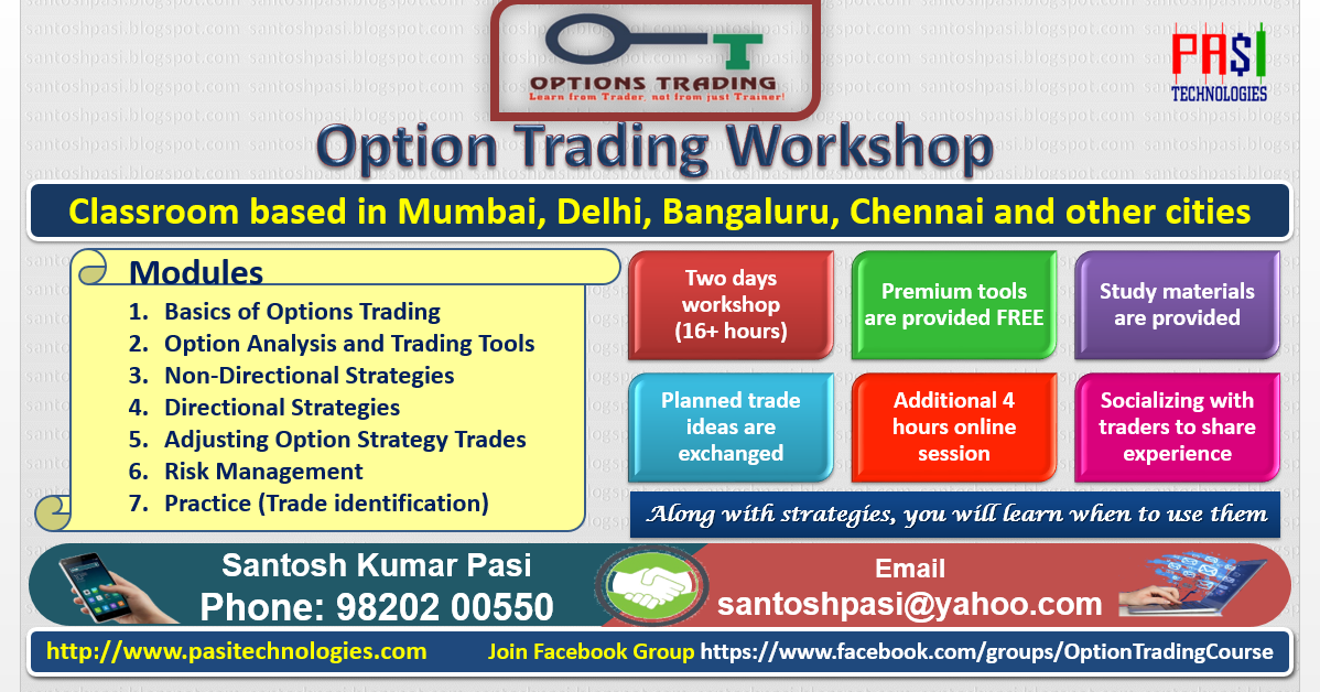 Where are options traded in india