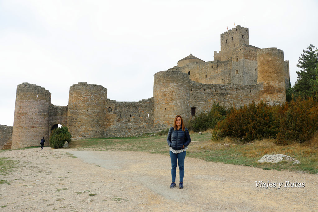 eNtrada al castillo de Loarre, Huesca