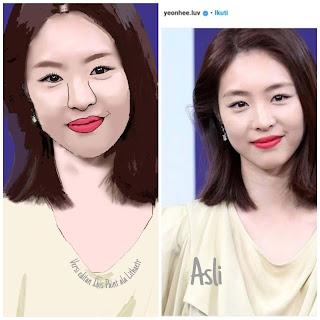 aktris dan model korea