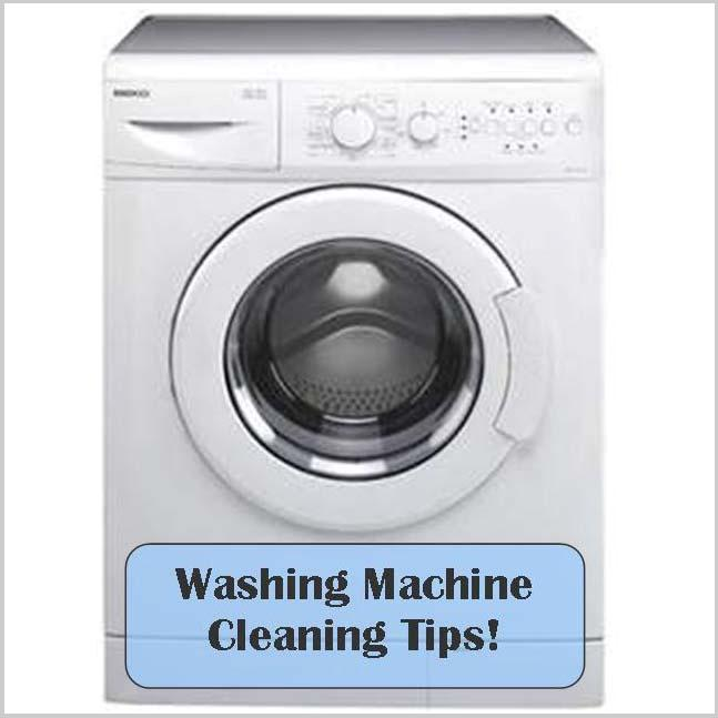 clean a washing machine