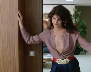 Kirstie Alley in the 1984 film BLIND DATE