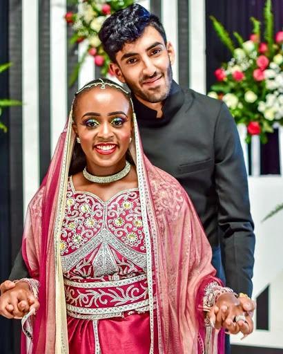 Artist Nadia Mukami part ways with her husband photo