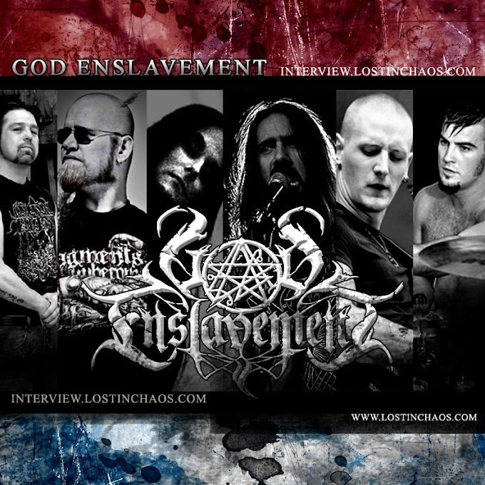 GOD ENSLAVEMENT Interview (Ludwigshafen, Germany)