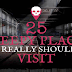 25 of the World's Creepiest Abandoned Places #infographic