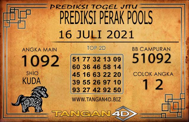 PREDIKSI TOGEL PERAK TANGAN4D 16 JULI 2021