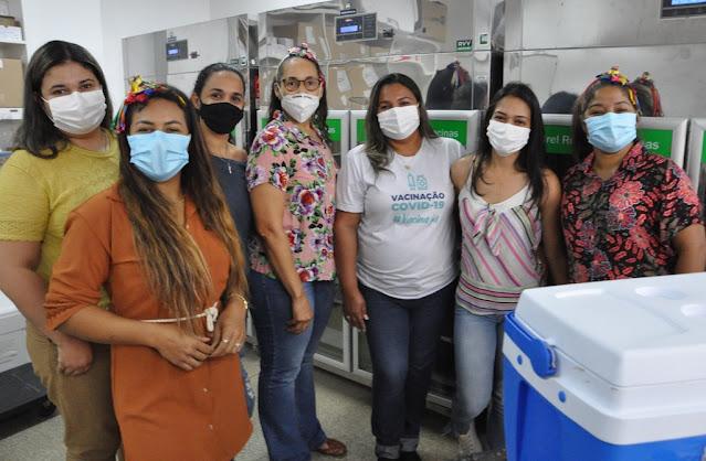 Barreiras recebe novas doses da vacina Pfizer/BioNTech, gestantes e puérperas serão vacinadas nesta quarta-feira,16