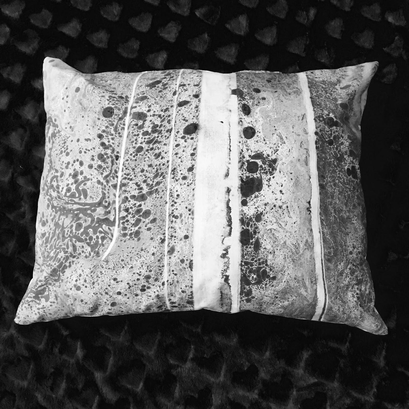 Tisk na textil - z vodní hladiny