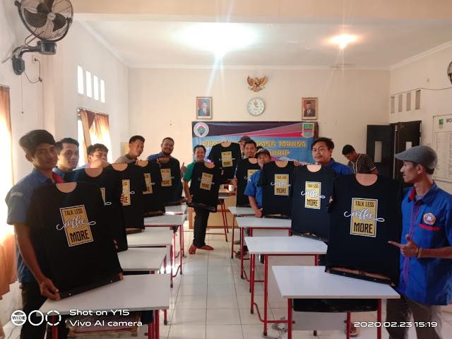 Pemdes Pantai Hurip Babelan Laksanakan Pelatihan Sablon Untuk Pemuda