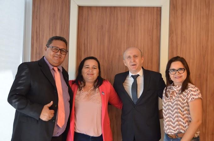 Prefeitos do Rio Grande do Norte são recebidos pelo presidente Aroldi em Brasília