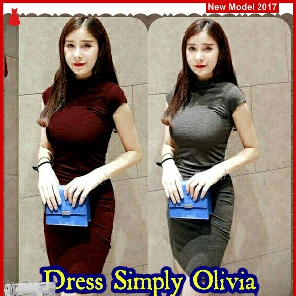 MSF0056 Model Dress Simply Murah Olivia Modis BMG