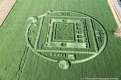 Crop Circle - Amazing Geometric Design - gvan42