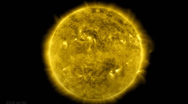 NASA Released Sun's Non-Stop Video for Over a Full Decade