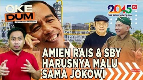 Jokowi Ambil Alih Blok Rokan, Yusuf Muhammad: SBY dan Amien Rais Harusnya Malu