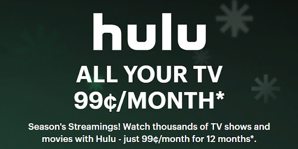 Get one year of Hulu for only $1 per month
