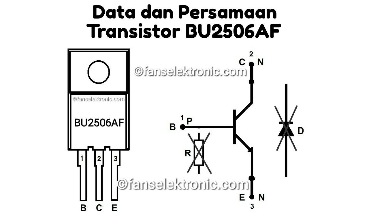 Persamaan Transistor BU2506AF