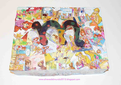 manualidades niños decorar con comic