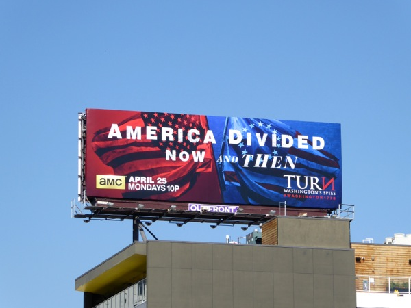Turn Washingtons Spies season 3 billboard