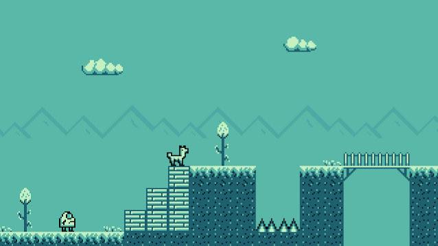 Platform game godot