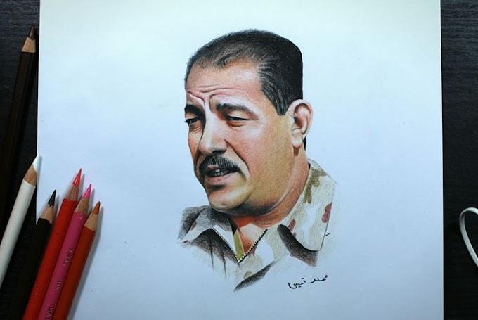 رسومات رائعة لـ محمد قيس طالب فنون جميلة