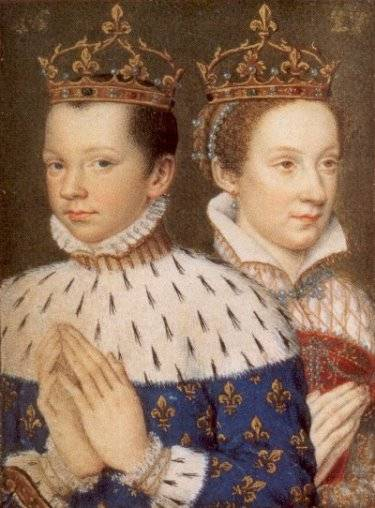 mary queen of scots and francis ii relationship poems