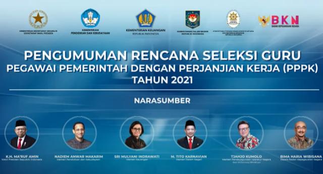 Nadiem Makarim Siapkan Pelatihan Online Untuk Guru Honorer Sebelum Selekasi PPPK Dimulai