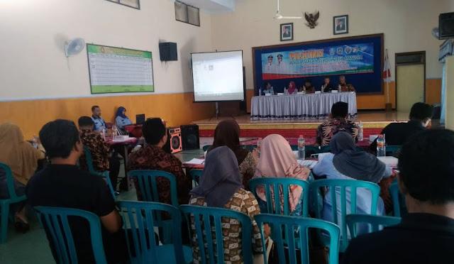 Pelatihan SDM Kecamatan Sukodono